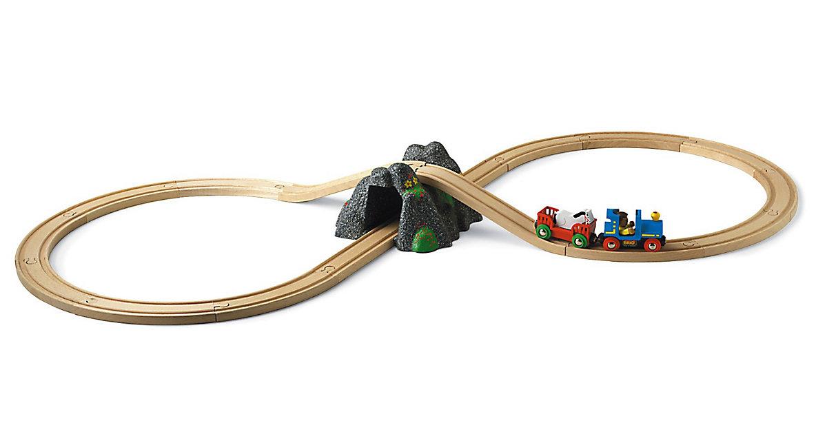 33027 Holzeisenbahn Acht mit Berg