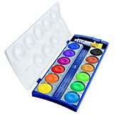 Deckfarbkasten K12, 12 Farben