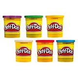 Play-Doh Основные цвета, 6 банок