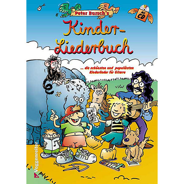 Peter Bursch's Kinder-Liederbuch, m. Audio-CD