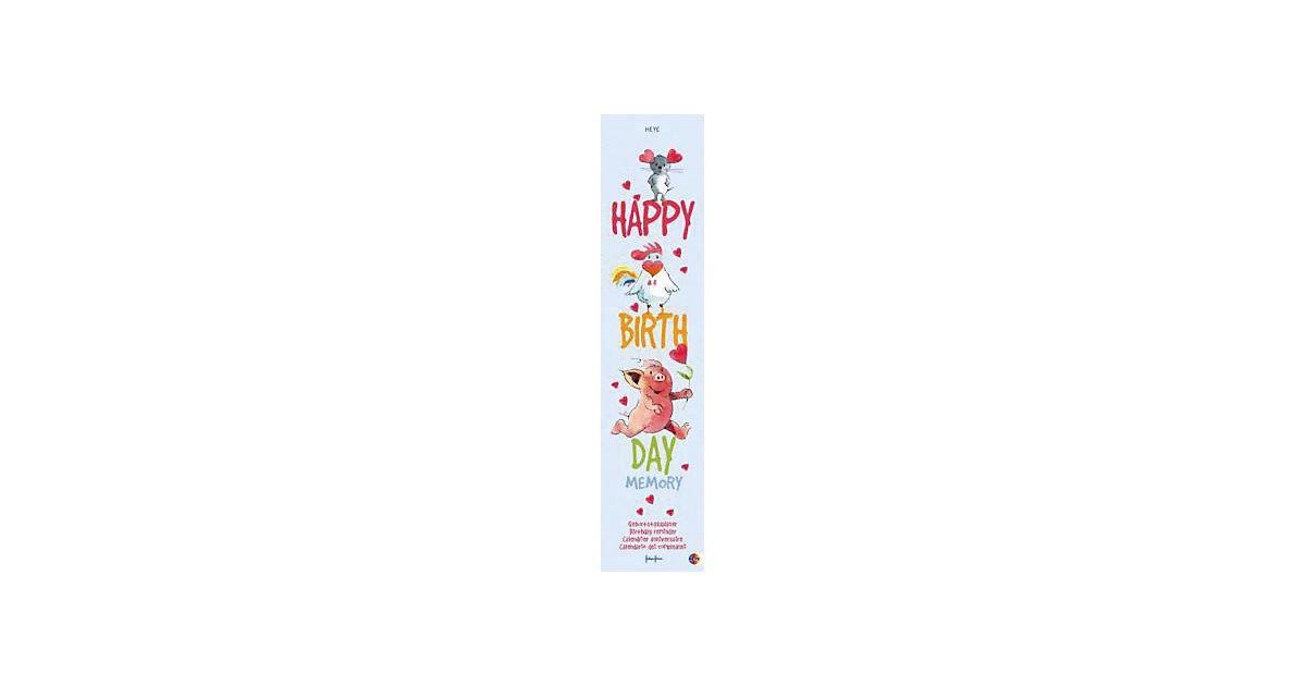 Buch - Happy Birthday Memory, Geburtstagskalender