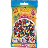 HAMA 207 midi-Perlen, 1000 Stück, Mix 22 Farben