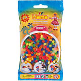 HAMA 207 midi-Perlen, 1000 Stück, Neon-Mix