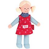 Sigikid 47480 Sigidolly: Puppe rot-blau, 29 cm