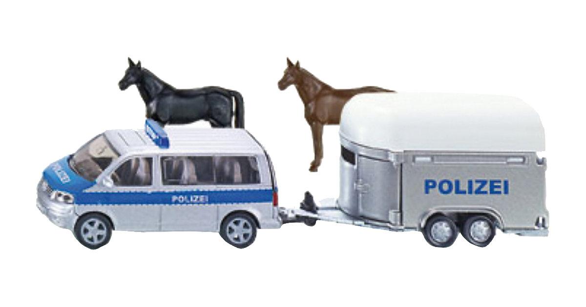 Siku polizei pkw mit pferdeanhänger bestellen