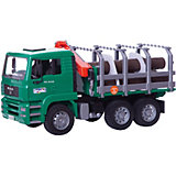 BRUDER 02769 TPS MAN Wood Transporter Truck