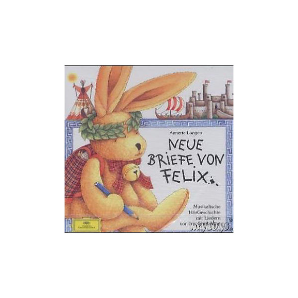 Weltbeste Briefe Von Felix : Neue briefe von felix audio cd annette langen