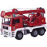 Пожарная машина автокран MAN, BRUDER