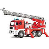 BRUDER 02771 TPS  MAN Fire Engine with Slewing Ladder, Light and Sound