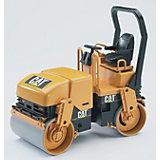 BRUDER 02433 Tandem Vibrating Roller CAT