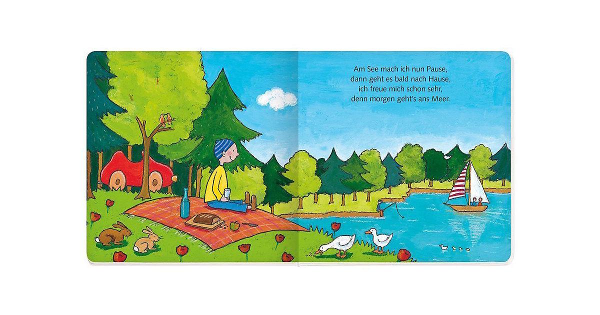 Buch - Mein kleiner roter Flitzer, m. Holzauto
