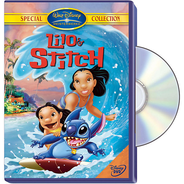 DVD Disneys Lilo & Stitch