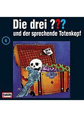 CD Die drei ??? 006 (der sprechende Totenkopf)