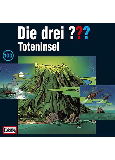 CD Die Drei ??? 100 - Toteninsel  Box - 3 CD