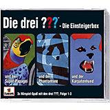 CD Die drei ??? 001-003: Einsteiger Box (Folge 1 - 3)