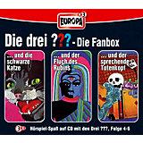 CD Die drei ??? 004-006: Box (Folge 4 - 6)