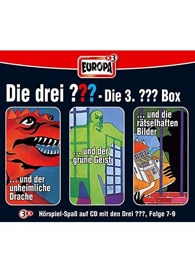 CD Die drei ??? 007-009: Box (Folge 7 - 9)