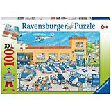 XXL Jigsaw - 100 Pieces - Police Station