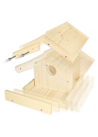 Holz-Bausatz Vogelhaus