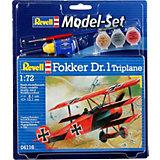 Набор самолета Model Set Fokker DR.0