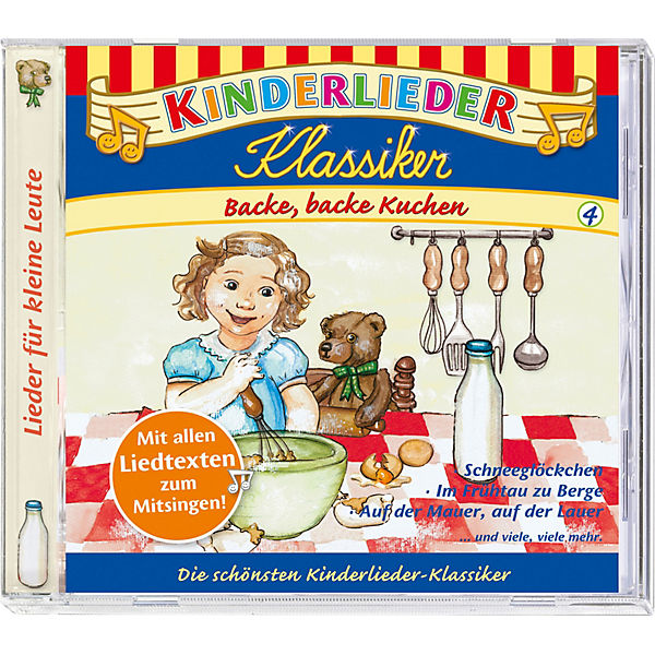 CD Kinderlieder Klassiker 04: Backe, backe Kuchen