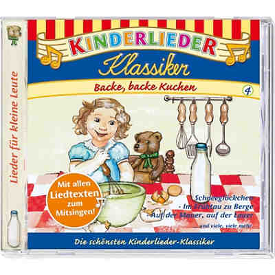 cd kinderlieder klassiker 04 backe backe kuchen kiddinx. Black Bedroom Furniture Sets. Home Design Ideas