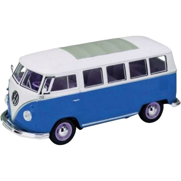 Welly VW Bus T1 1962, blau