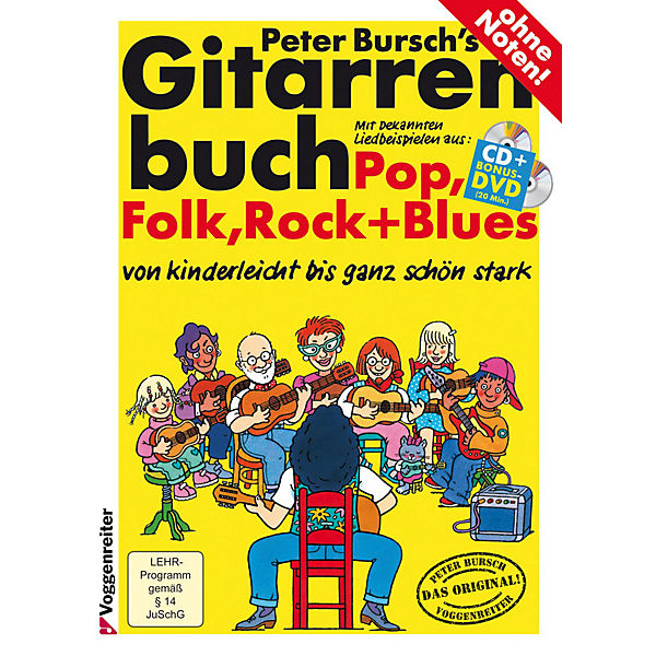 Gitarrenbuch, m. Audio-CD u. DVD-Video