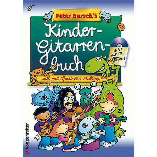 Peter Bursch's Kinder-Gitarrenbuch, mit CD-Audio