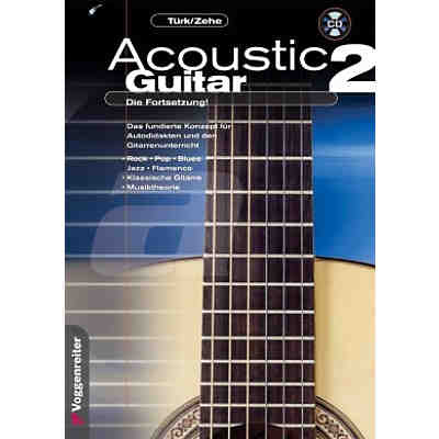 Acoustic Guitar, Die Fortsetzung, m. CD-Audio