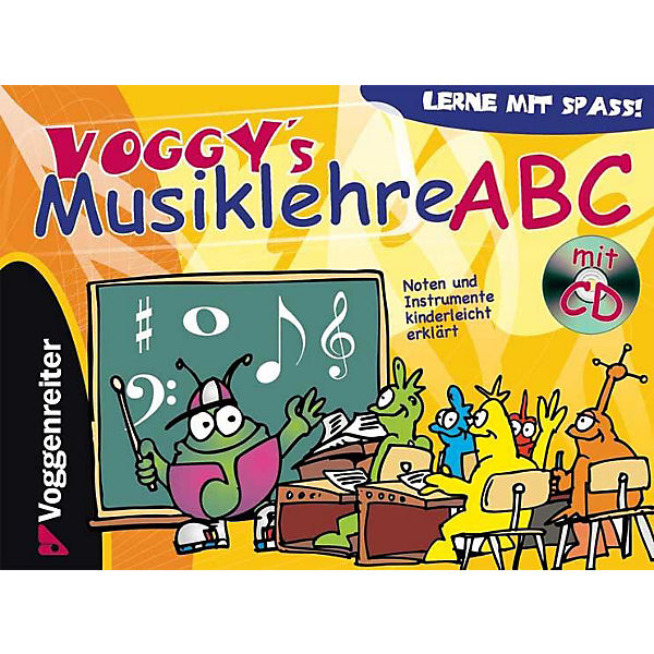 Voggy's Musiklehre ABC, mit Audio-CD