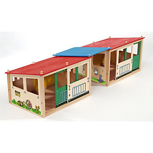 Horse Stall, 29 Pieces