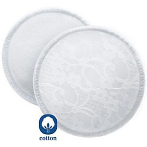 Breastfeeding Pads, Washable, 6 Pieces