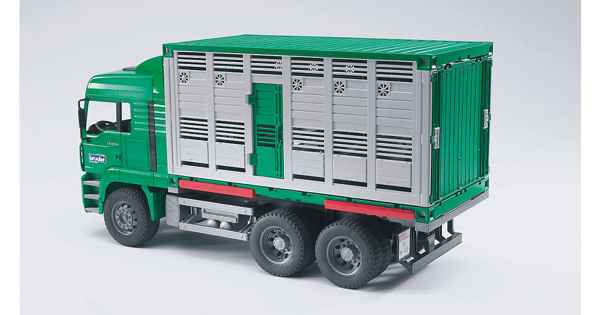 02749 MAN Tiertransport-LKW inkl. 1 Kuh
