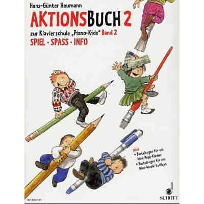 Piano Kids, Aktionsbuch Band 2