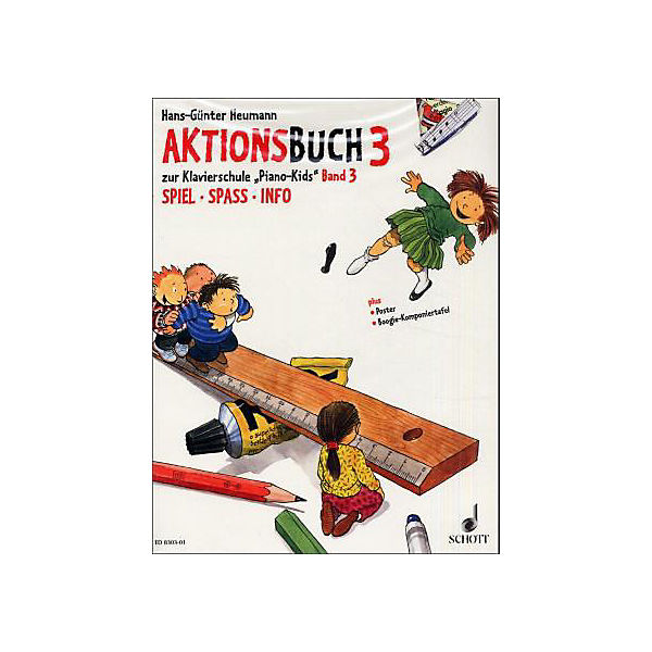 Piano Kids, Aktionsbuch Band 3
