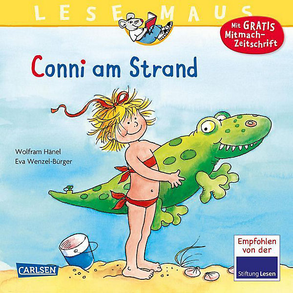 Lesemaus: Conni am Strand