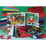 Large Christmas Decoration Case, 53 Pieces.