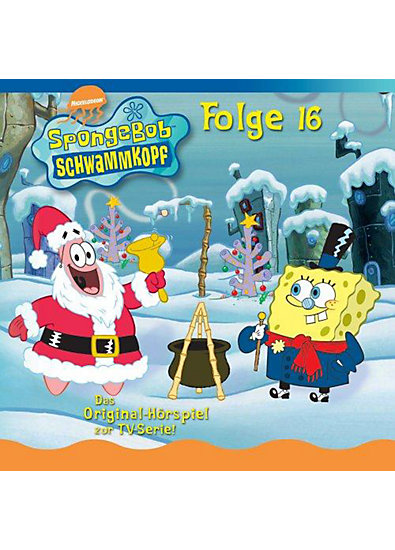 cd spongebob schwammkopf 16 weihnachten unter wasser edel. Black Bedroom Furniture Sets. Home Design Ideas