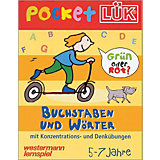 pocket LÜK Block: Buchstaben und Wörter
