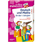 mini LÜK Set: Deutsch und Mathe, 1. Klasse