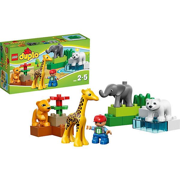 LEGO DUPLO 4962 Ville: Зоопарк для малышей