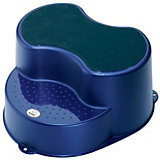 Step Stool, Top Blue Pearl