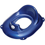 Toilet Seat, Top Blue Pearl