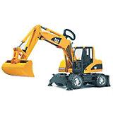 BRUDER 02445 TPS Caterpillar Mobile Excavator