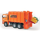 BRUDER 02762 TPS MAN Dump Truck Rear Loader