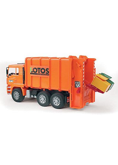 BRUDER 02762 TPS MAN Müll-LKW Hecklader