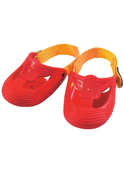 BIG Zubehör - Schuhschützer Größe 21 - 28, rot