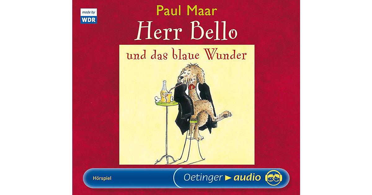 Herr Bello und das blaue Wunder, 2 Audio-CDs Hörbuch