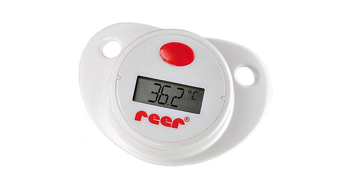 Schnuller Thermometer weiß